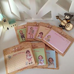 Low Price on Doll Pattern Slef-Stick Notes (Random Color)