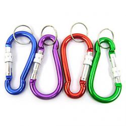 Low Price on Gourd Type Locking Carabiner Random Color